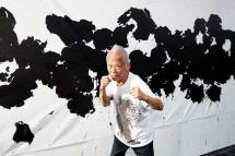 Ushio Shinohara:  ACTION!  Boxing Paintings and Sculptures
