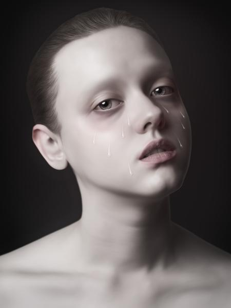 """9 Tears,"" C-Print Face Mounted with Acrylic, Edition 1/8, 63 x 47 inches"