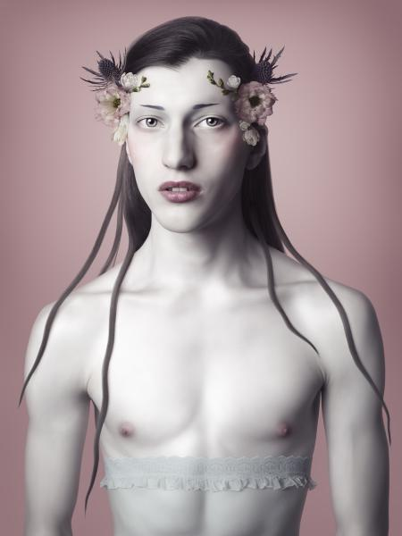 """Flora,"" C-Print Face Mounted with Acrylic, Edition 1/8, 63 x 47 inches"