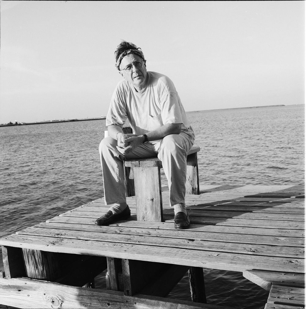 Suzanne Paul, Richard Stout at the Bay House, 1999