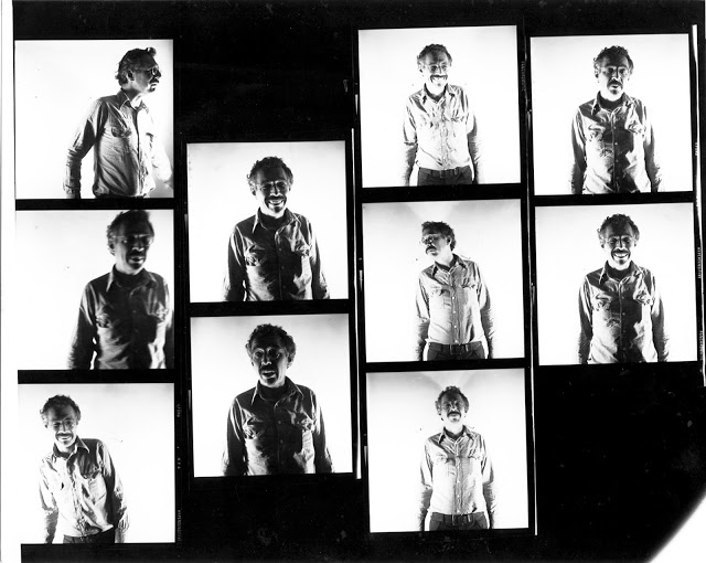 Jim Harithas, 1978, Gelatin silver contact proof print