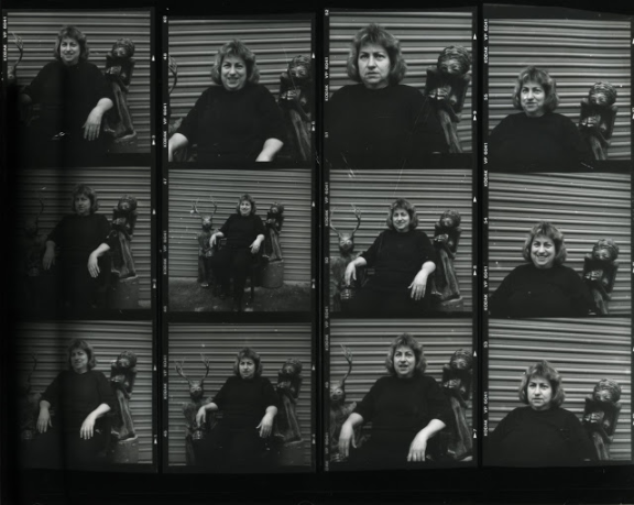 Sharon Kopriva, 2001, Contact proof print